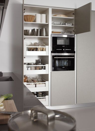 1000 ideas sobre organizaci n de la despensa en pinterest for Muebles de cocina despensa