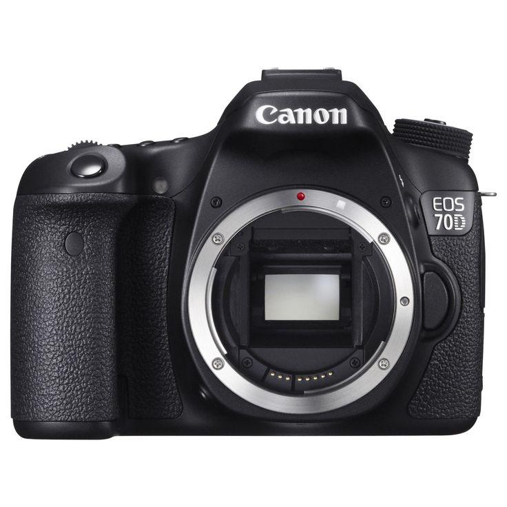 Canon EOS 70D 20.2 Megapixel Digital SLR Camera Body Only