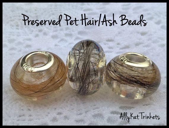 Pet memorial beads