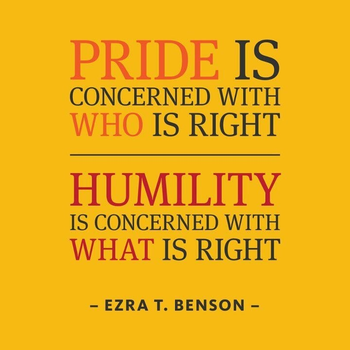 "best humility images be humble biblical quotes  humility is concerned what is right""―ezra taft benson so true always has been"