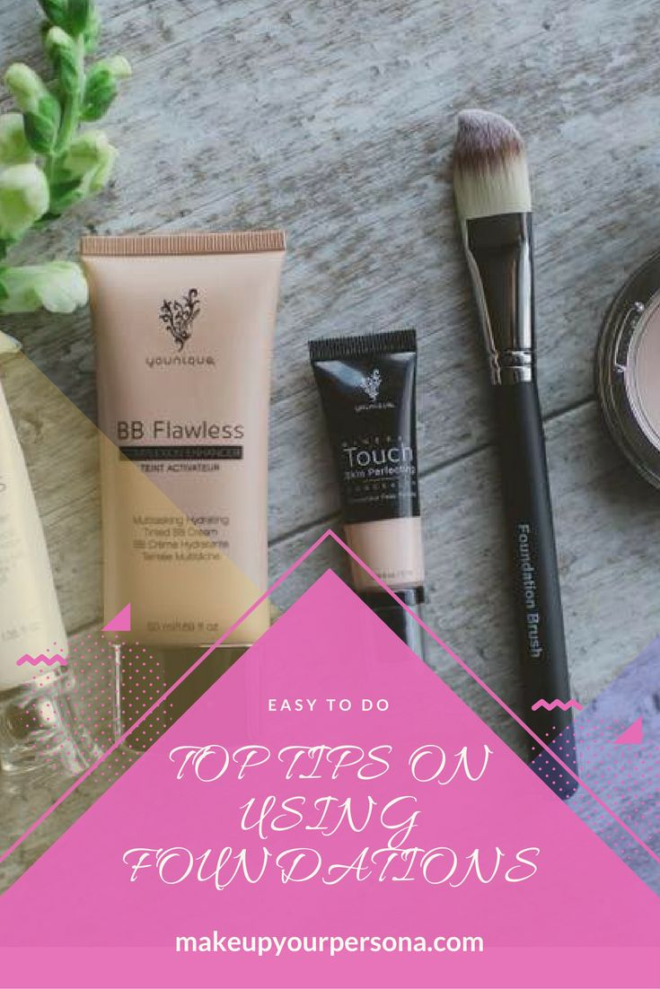 Tips on using foundations, best foundation tips. Choosing correct skin tone.