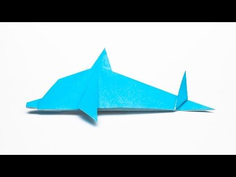 How to Fold a Simple Origami Dolphin