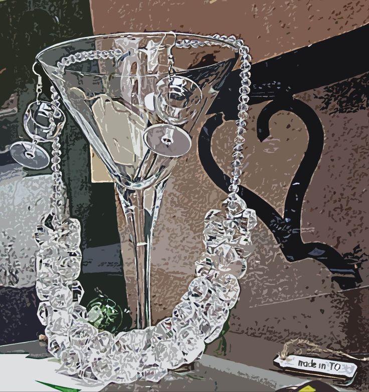 """buona domenica caldo e afa imperversano collana """"ghiaccio"""" collezione made in TO fotodi Chiara Arcidiacono per Quartierissimo"""