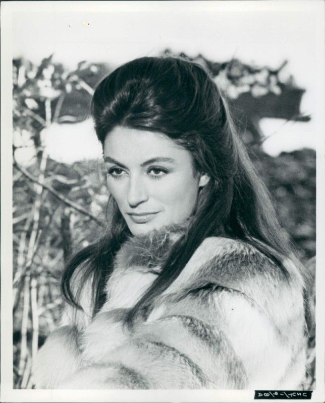 1972 Press Photo Of Actress Anouk Aimee