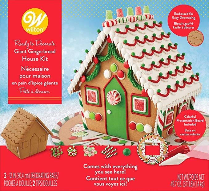 Wilton ReadytoDecorate Giant Gingerbread House