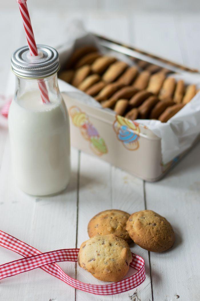 cookies, colazione, bambini, merenda, biscotti, cioccolato, noci