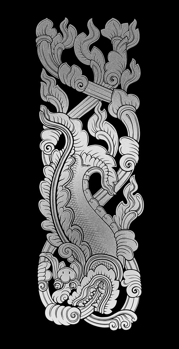 khmer by nguyen thanh nhan khmer pinterest thai art doodling journal and leaf art. Black Bedroom Furniture Sets. Home Design Ideas