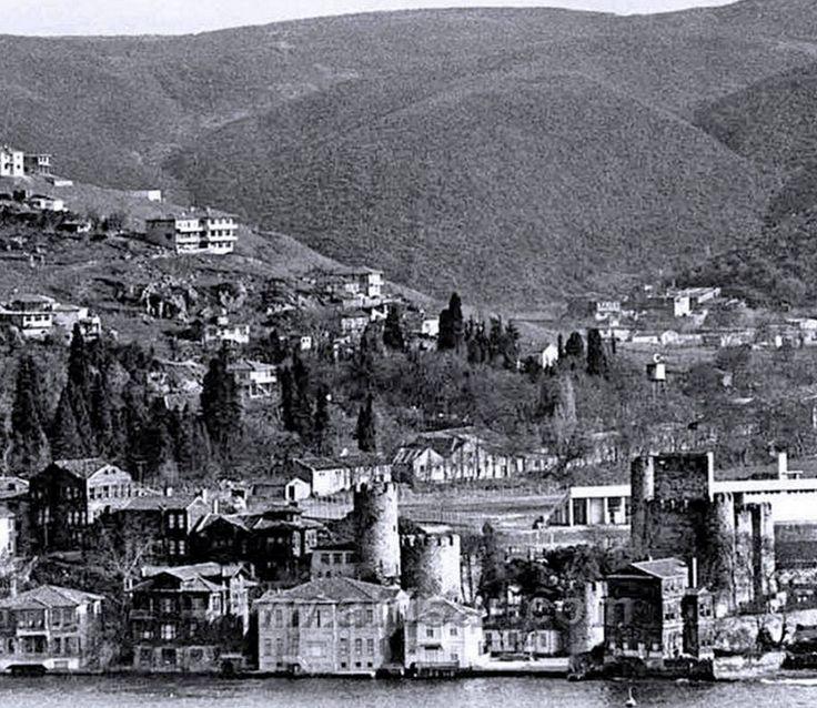 1970'li yıllarda Anadolu hisarı.