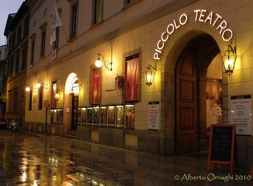 The Piccolo teatro is the location for all the #Convivio edition