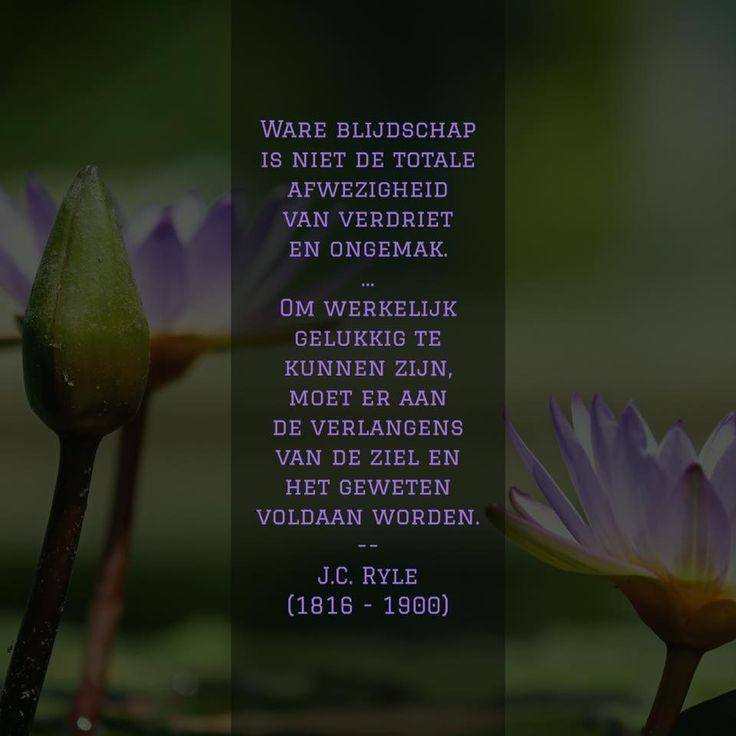 Ware blijdschap - J.C. Ryle (1816 - 1900)