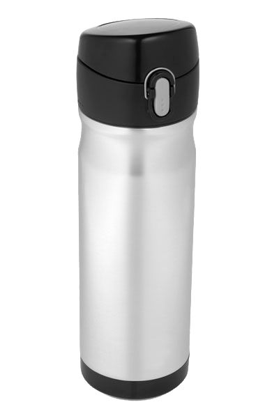 Vacuum Insulated 16 oz Stainless Steel Commuter Bottle   Thermos®Steam Hot, Insulators, Coffee Warm, Coffee Steam, Coffee Hot, Steel Commuter, Commuter Bottle, Hour, Stainless Steel