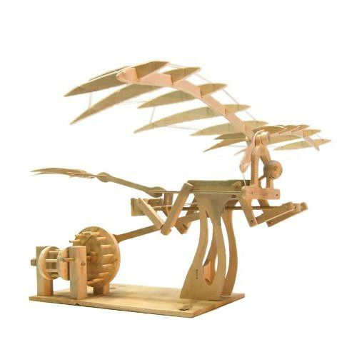 Da Vinci Ornithopter Model | Krinkle Gifts | Kids gift idea. | Wooden toy |