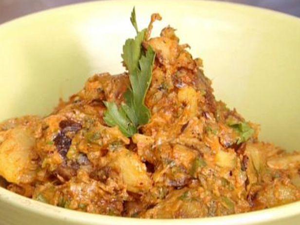 Salada de Batatas Grelhadas com Maionese de Pimentão Vermelho e Páprica Defumada - Food Network