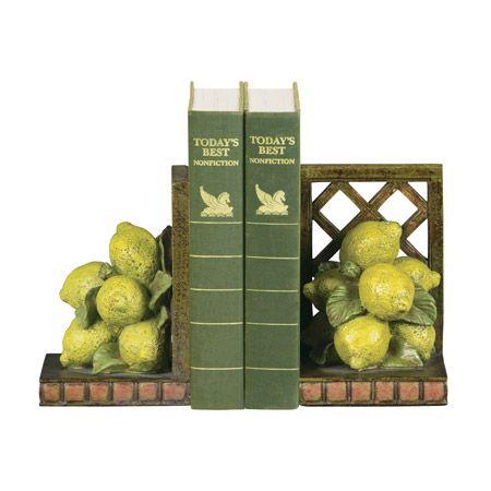 Lemons Bookends