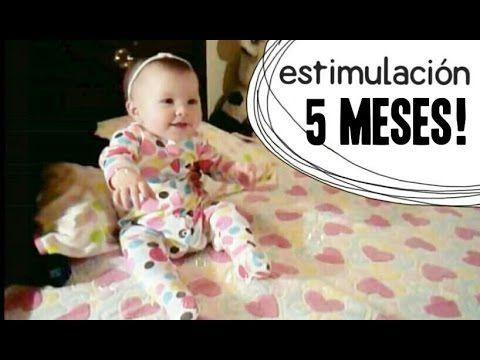 Actividades Bebé 5 meses - Estimulación Temprana - YouTube