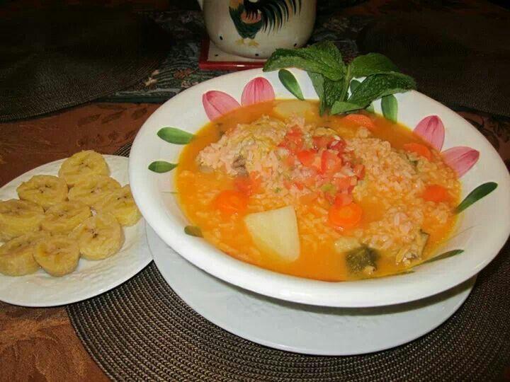 Arroz Aguado (Nicaraguan Chicken And Rice Stew) Recipes — Dishmaps