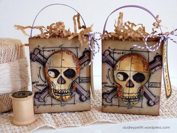 Audrey Pettit - Sizzix Halloween Treat Bags