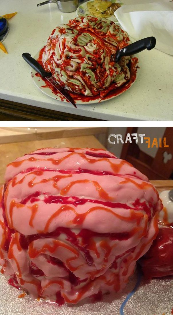 halloween food fails