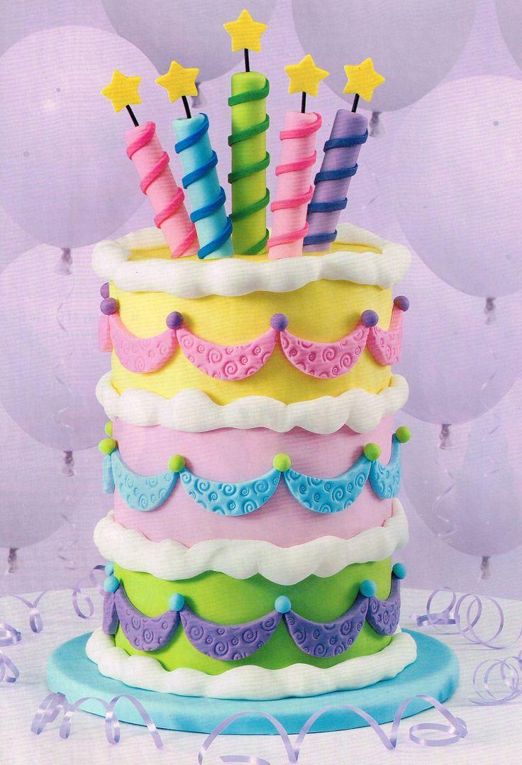 Little Girl Birthday Cake Decorating Ideas