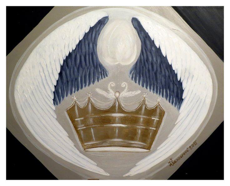 Království - akryl na plátně - 40x50