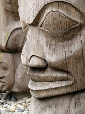(from a travel site - not clear where the actual carving is - presumably Haida-Tlingit, but I'm not sure)