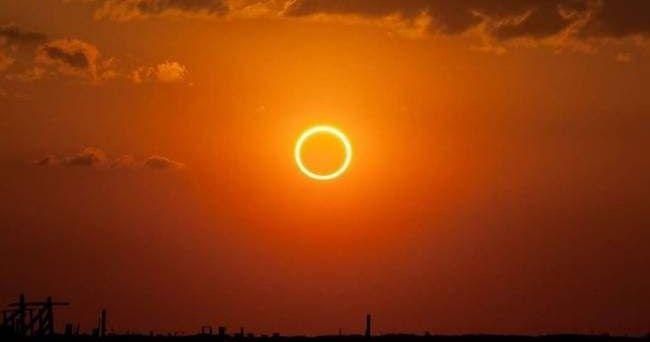 Έκλειψη ηλίου: Οι εντυπωσιακές εικόνες από το «δαχτυλίδι της φωτιάς»
