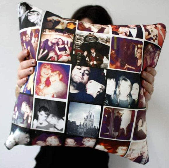 Instagram photos pillow