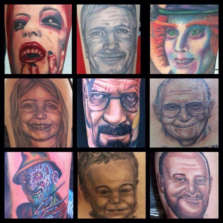 Portraits by Trinity bone shaker body art
