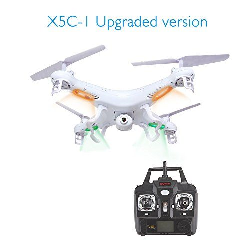 The product GBB 2.4G 6-Axles RC Quadcopter Drone UAV RTF with 2MP HD Camera for Syma X5C-1 can be reviewed at - http://drone-review.co.uk/product/gbb-2-4g-6-axles-rc-quadcopter-drone-uav-rtf-with-2mp-hd-camera-for-syma-x5c-1