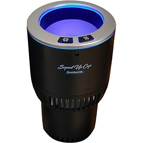 """SUPED UP CUP-Climate Controlled Drink Keeper 12-Volt (Enhanced Version), Keep Your Beverage Hot Drink Hot, Cold Drink Cold 