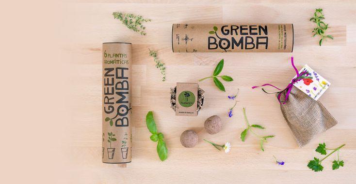 GREEN BOMBA Bombas de semillas, regalos con conciencia. en FairChanges