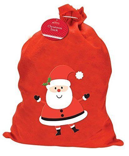 Christmas Santa Sack RED GIFT PRESENTS  XMAS 57cm Height x 47cm Width
