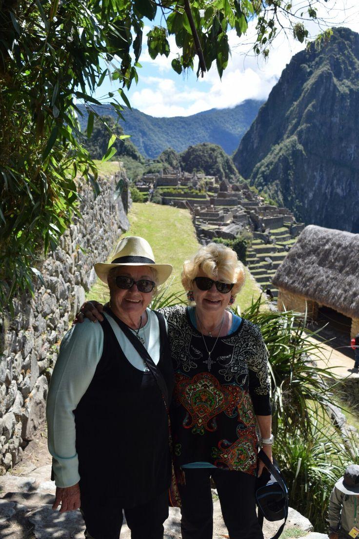 Compañeras en Macho Pichu