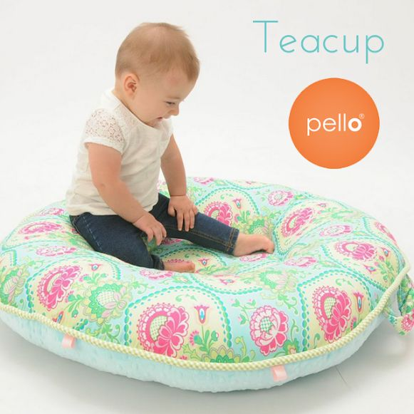 Featured Design: Teacup Floor Pillow! Teacup Is Available With Aqua Or  Light Pink Luxe