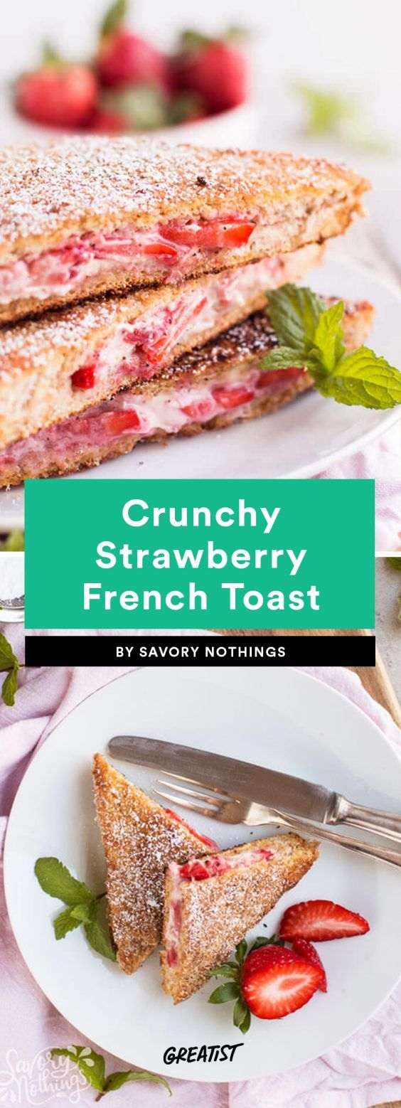 Bring #brunchgoals to your own kitchen. #greatist https://greatist.com/eat/healthy-french-toast-recipes