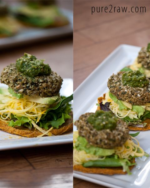 37 best raw burgers loafs images on pinterest raw food raw burger with great wrap option forumfinder Image collections