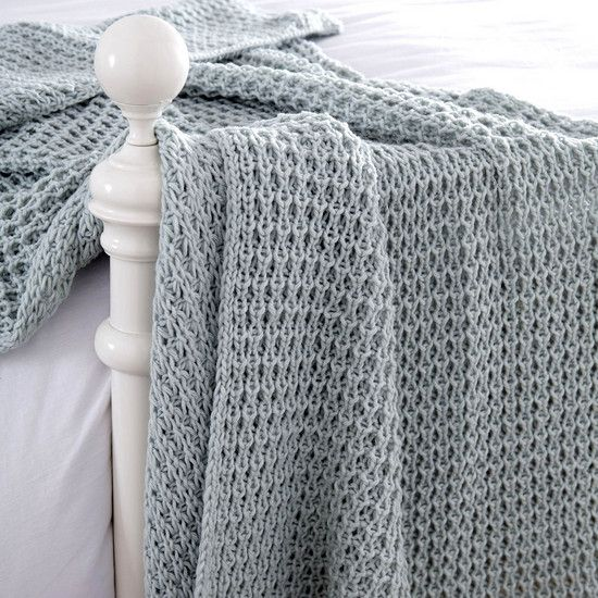 Chunky Knit Throw | Dunelm