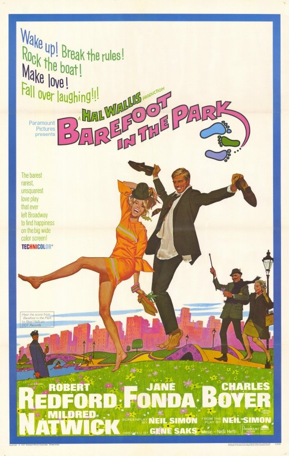 Barefoot in the Park with Jane Fonda & Robert Redford. (I thought my parents looked just like them!)