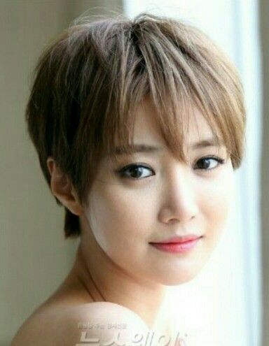 Korean actor jun hee go short cut
