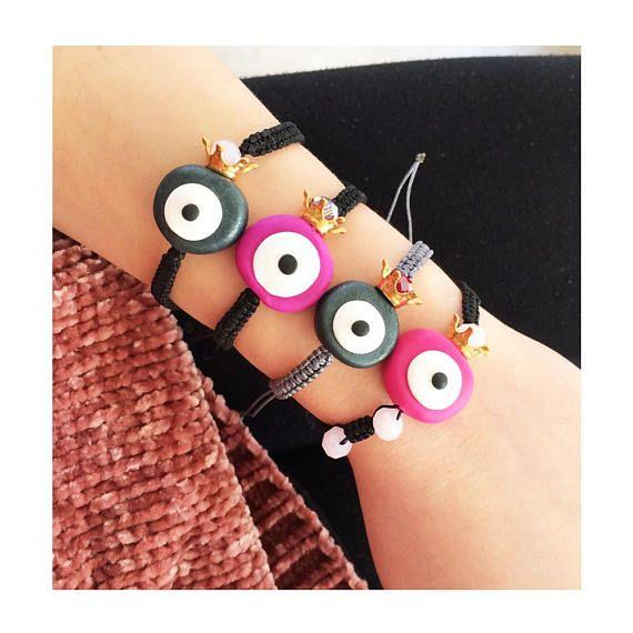greek jewelry evil eye bracelet evil eye jewelry polymer