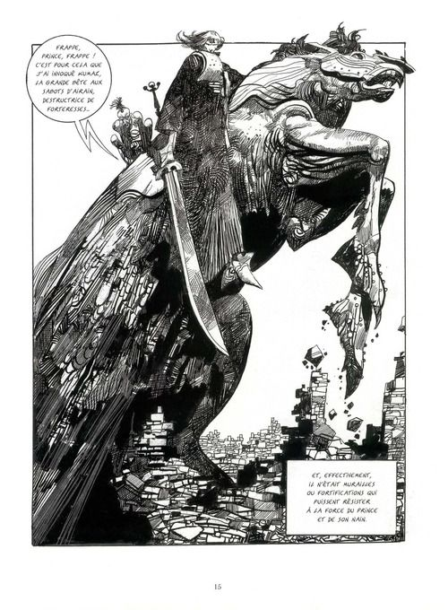 """Sergio Toppi """"We can always count on Sergio for a grand gesture"""" KB"""