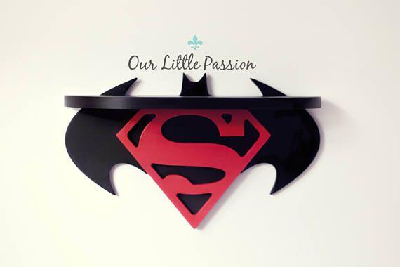 Hey, I found this really awesome Etsy listing at https://www.etsy.com/listing/540829985/batman-vs-superman-shelf-shelf-for-baby