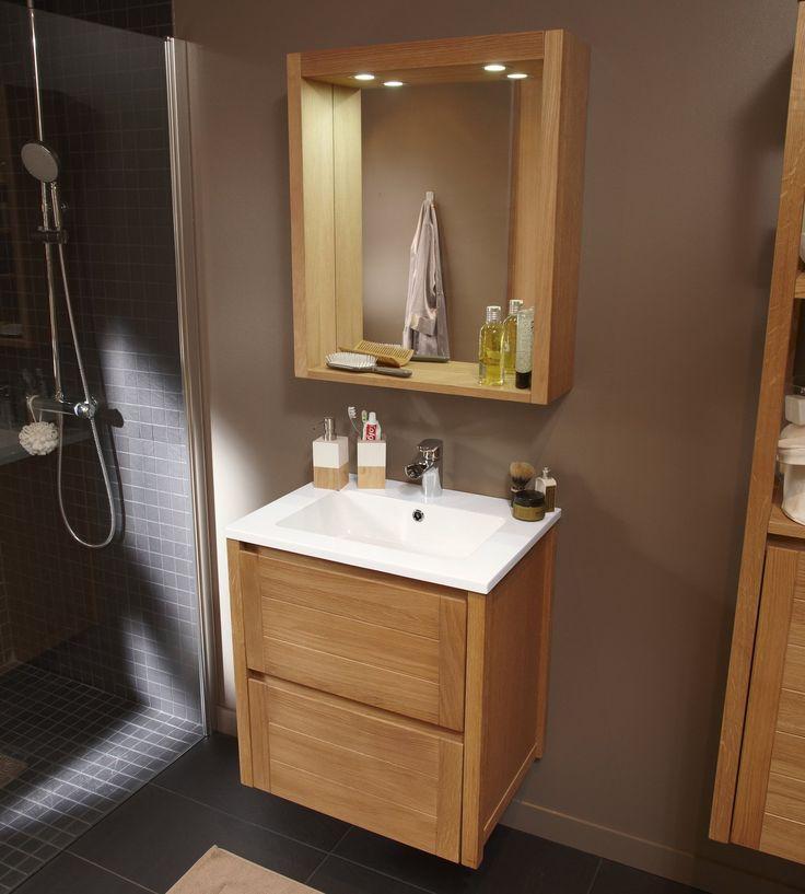 11 best salle de bain plan de travail images on Pinterest Bathroom - leroy merlin meuble salle de bain neo