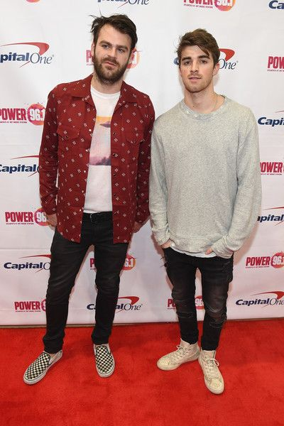 Andrew Taggart Photos Photos - Alex Pall and Andrew Taggart of The Chainsmokers attend Power 96.1's Jingle Ball 2016 at Philips Arena on December 16, 2016 in Atlanta, Georgia. - Power 96.1's Jingle Ball 2016 - PRESS ROOM