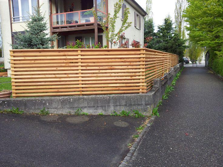 36 besten Garten Sichtschutz Bilder auf Pinterest Garten - trennwand garten holz