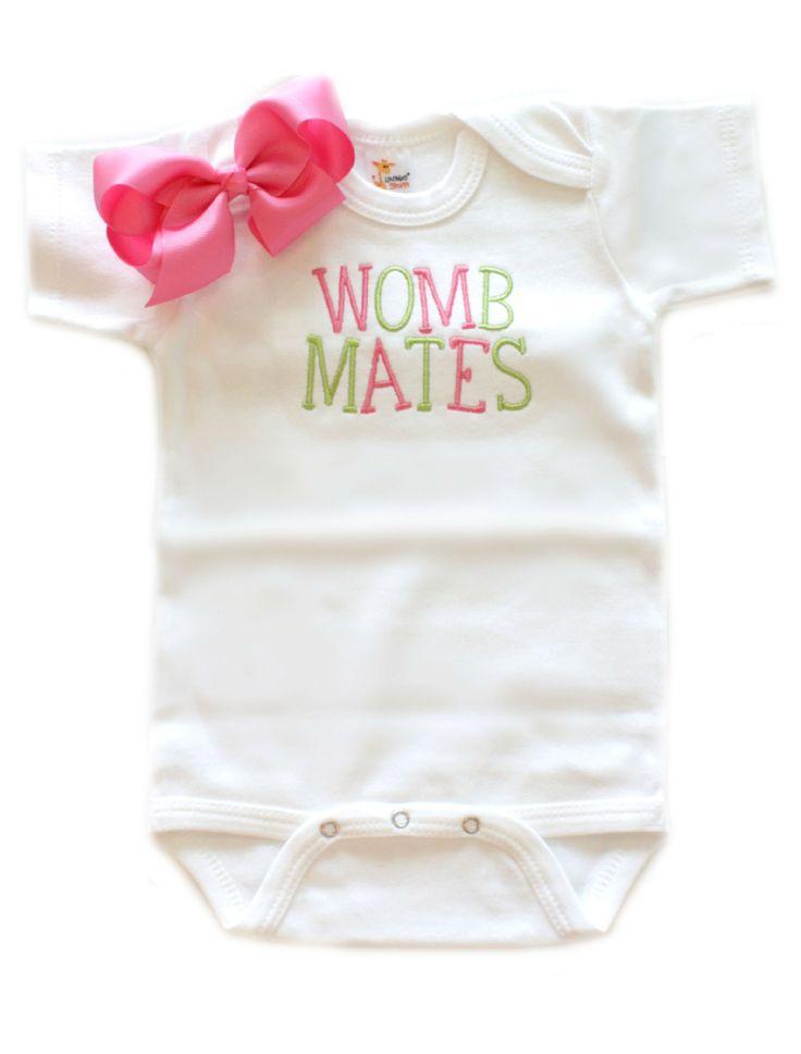 Womb Mates w/ Bow Option
