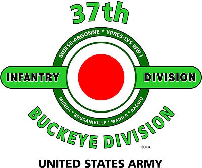"37th Infantry Division "" Buckeye Division"" United States Army Shirt"