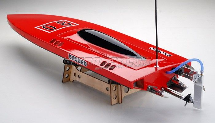Exceed Racing Boat Electric Powered FiberGlass SWORD 630EP Mono1 Competition W/ ESC 50A