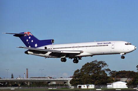 Ansett Boeing 727-276