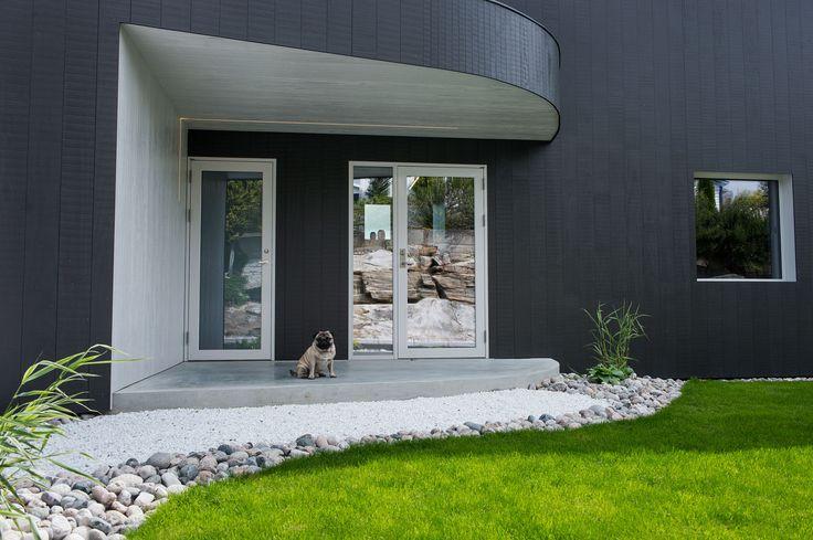 Singelfamily house  Built: 2015 Architect: Marita Hamre  Cladding: Accoya Windows: Ideal Combi Futura+ Doors: Windows: Ideal Combi Nation